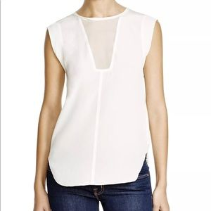 Rebecca Taylor Charlie silk top NWT size 8
